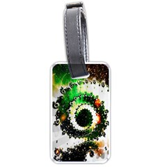 Fractal Universe Computer Graphic Luggage Tags (two Sides) by Simbadda