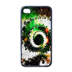 Fractal Universe Computer Graphic Apple Iphone 4 Case (black) by Simbadda