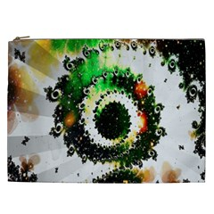 Fractal Universe Computer Graphic Cosmetic Bag (xxl)  by Simbadda