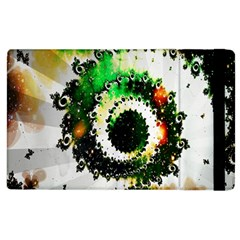 Fractal Universe Computer Graphic Apple Ipad 3/4 Flip Case by Simbadda