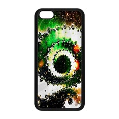 Fractal Universe Computer Graphic Apple Iphone 5c Seamless Case (black) by Simbadda