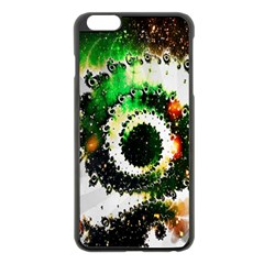 Fractal Universe Computer Graphic Apple Iphone 6 Plus/6s Plus Black Enamel Case by Simbadda