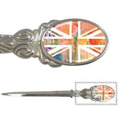 Union Jack Abstract Watercolour Painting Letter Openers