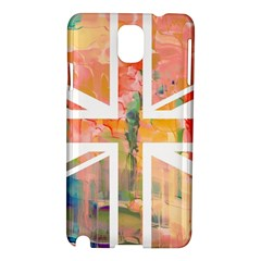 Union Jack Abstract Watercolour Painting Samsung Galaxy Note 3 N9005 Hardshell Case by Simbadda