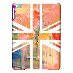 Union Jack Abstract Watercolour Painting Ipad Air Hardshell Cases by Simbadda