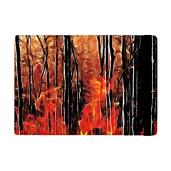 Forest Fire Fractal Background Ipad Mini 2 Flip Cases by Simbadda