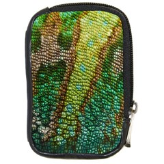 Colorful Chameleon Skin Texture Compact Camera Cases by Simbadda
