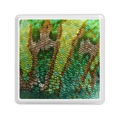 Colorful Chameleon Skin Texture Memory Card Reader (square)