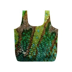 Colorful Chameleon Skin Texture Full Print Recycle Bags (s)