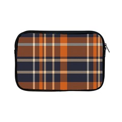 Tartan Background Fabric Design Pattern Apple Ipad Mini Zipper Cases by Simbadda