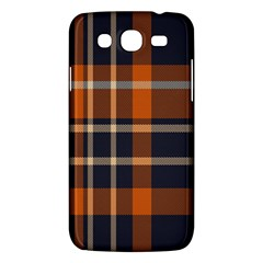 Tartan Background Fabric Design Pattern Samsung Galaxy Mega 5 8 I9152 Hardshell Case  by Simbadda