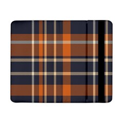 Tartan Background Fabric Design Pattern Samsung Galaxy Tab Pro 8 4  Flip Case by Simbadda
