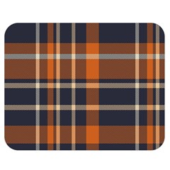 Tartan Background Fabric Design Pattern Double Sided Flano Blanket (medium)