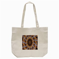 Manipulated Reality Of A Building Picture Tote Bag (cream) by Simbadda