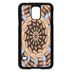 Manipulated Reality Of A Building Picture Samsung Galaxy S5 Case (black) by Simbadda