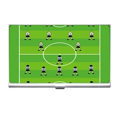 Soccer Field Football Sport Business Card Holders by Alisyart