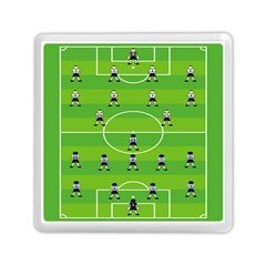 Soccer Field Football Sport Memory Card Reader (square)