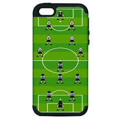 Soccer Field Football Sport Apple Iphone 5 Hardshell Case (pc+silicone) by Alisyart
