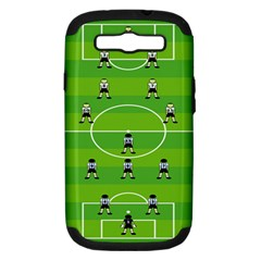 Soccer Field Football Sport Samsung Galaxy S Iii Hardshell Case (pc+silicone)