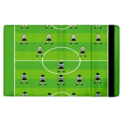 Soccer Field Football Sport Apple Ipad 2 Flip Case by Alisyart