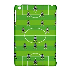 Soccer Field Football Sport Apple Ipad Mini Hardshell Case (compatible With Smart Cover) by Alisyart