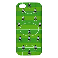 Soccer Field Football Sport Apple Iphone 5 Premium Hardshell Case by Alisyart