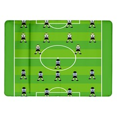 Soccer Field Football Sport Samsung Galaxy Tab 10 1  P7500 Flip Case