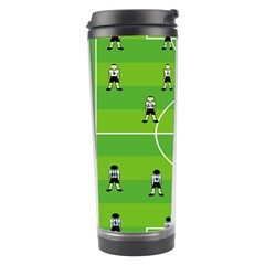 Soccer Field Football Sport Travel Tumbler by Alisyart