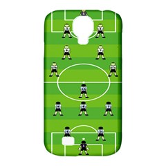 Soccer Field Football Sport Samsung Galaxy S4 Classic Hardshell Case (pc+silicone)
