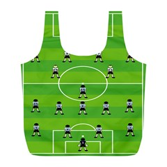 Soccer Field Football Sport Full Print Recycle Bags (l)  by Alisyart