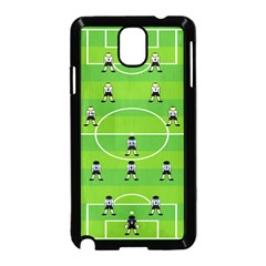 Soccer Field Football Sport Samsung Galaxy Note 3 Neo Hardshell Case (black)