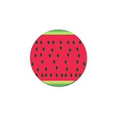 Watermelon Fan Red Green Fruit Golf Ball Marker (10 Pack) by Alisyart