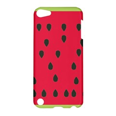 Watermelon Fan Red Green Fruit Apple Ipod Touch 5 Hardshell Case by Alisyart