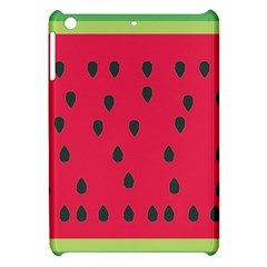 Watermelon Fan Red Green Fruit Apple Ipad Mini Hardshell Case by Alisyart