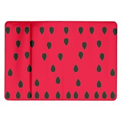 Watermelon Fan Red Green Fruit Samsung Galaxy Tab 10 1  P7500 Flip Case