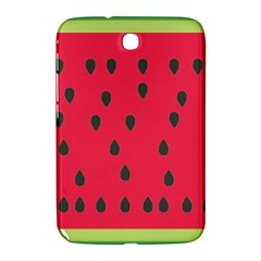 Watermelon Fan Red Green Fruit Samsung Galaxy Note 8 0 N5100 Hardshell Case  by Alisyart