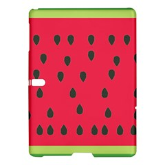 Watermelon Fan Red Green Fruit Samsung Galaxy Tab S (10 5 ) Hardshell Case