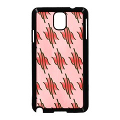 Variant Red Line Samsung Galaxy Note 3 Neo Hardshell Case (black)