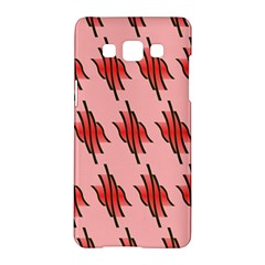 Variant Red Line Samsung Galaxy A5 Hardshell Case  by Alisyart