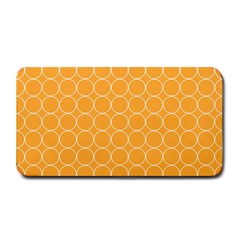 Yellow Circles Medium Bar Mats by Alisyart
