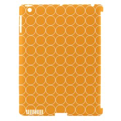 Yellow Circles Apple Ipad 3/4 Hardshell Case (compatible With Smart Cover)