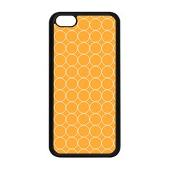 Yellow Circles Apple Iphone 5c Seamless Case (black) by Alisyart