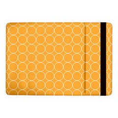 Yellow Circles Samsung Galaxy Tab Pro 10 1  Flip Case by Alisyart