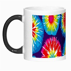 Tie Dye Circle Round Color Rainbow Red Purple Yellow Blue Pink Orange Morph Mugs