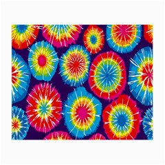 Tie Dye Circle Round Color Rainbow Red Purple Yellow Blue Pink Orange Small Glasses Cloth by Alisyart