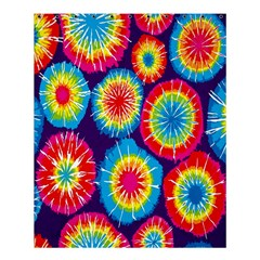 Tie Dye Circle Round Color Rainbow Red Purple Yellow Blue Pink Orange Shower Curtain 60  X 72  (medium)  by Alisyart