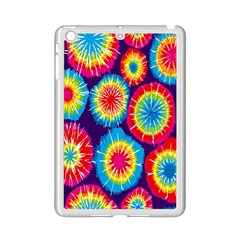 Tie Dye Circle Round Color Rainbow Red Purple Yellow Blue Pink Orange Ipad Mini 2 Enamel Coated Cases