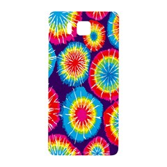 Tie Dye Circle Round Color Rainbow Red Purple Yellow Blue Pink Orange Samsung Galaxy Alpha Hardshell Back Case by Alisyart