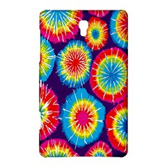 Tie Dye Circle Round Color Rainbow Red Purple Yellow Blue Pink Orange Samsung Galaxy Tab S (8 4 ) Hardshell Case  by Alisyart