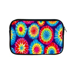 Tie Dye Circle Round Color Rainbow Red Purple Yellow Blue Pink Orange Apple Macbook Pro 13  Zipper Case by Alisyart